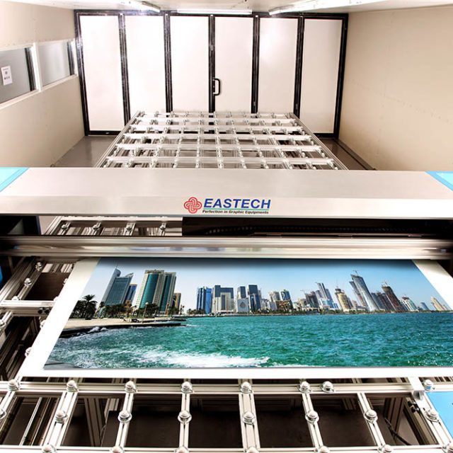 Alutec Services - Image of screen printing