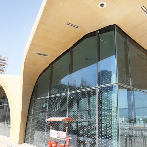 DOHA METRO PROJECT -REDLINE WEST BAY AND QP SHELTER